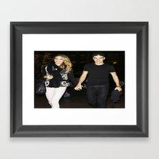 One Direction Liam Payne Danielle Peazer Payzer Framed Art Print