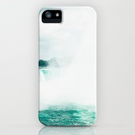 Photograph of Niagara Falls on a Warm Summer's Day in Canada iPhone Case