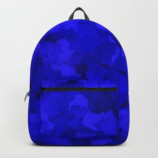 Rich Cobalt Blue Abstract by katherinefriesen