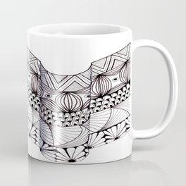 Zentangle Architectural Molding Coffee Mug
