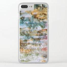 Tye Dye Texture Clear iPhone Case