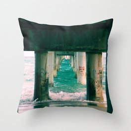 Flow Like Water Throw Pillow
