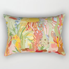 Acuarium Rectangular Pillow