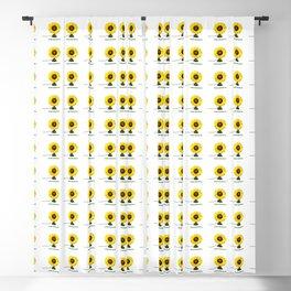 ORGANIC INVENTIONS SERIES: Vintage Flower Desk Fan Blackout Curtain