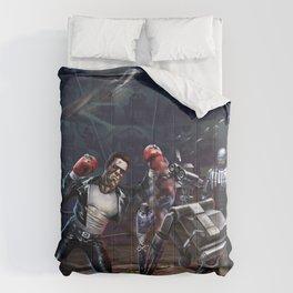 Robot Fight Comforters