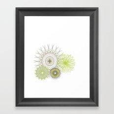 Modern Spiro Art #4 Framed Art Print