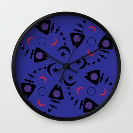 Occult Fish Wall Clock