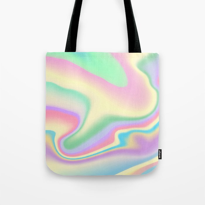 Holographic Design Tote Bag