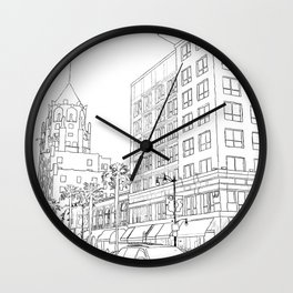 Hollywood And Highland Wall Clock