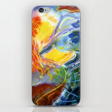 The Long Sleeved Dancer iPhone & iPod Skin