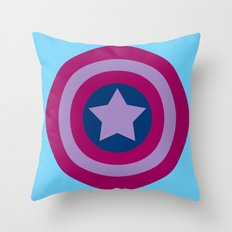 American Pride (bisexual edition) Throw Pillow