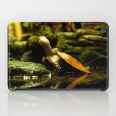 Mr. Turtle Workin' On His Tan iPad Case