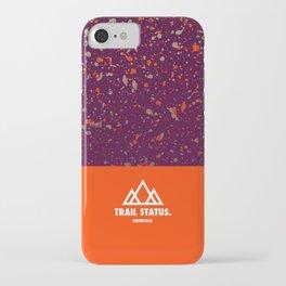 Trail Status / Orange iPhone Case