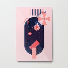 Starbathing Metal Print