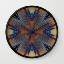 Twilight Moods Kaleidoscope Wall Clock