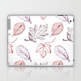 Leaves (reds) Laptop & iPad Skin