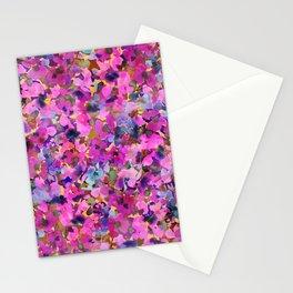 Pink Rainbow Garden Stationery Cards