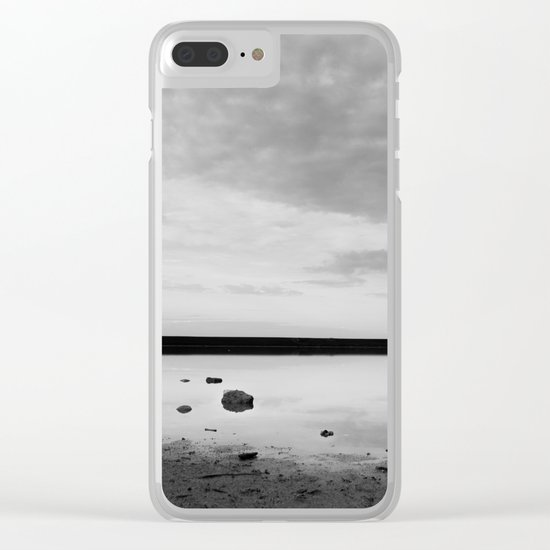 ISLAND STORIES IX BW Clear iPhone Case