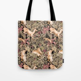Wild life pattern Tote Bag