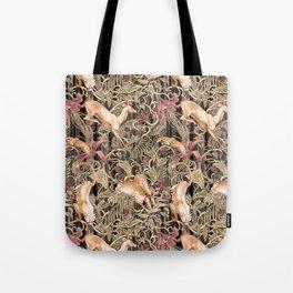 Wild life pattern Tote Bag