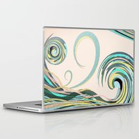 drink Laptop & iPad Skins featuring In the Drink by DebS Digs Photo Art