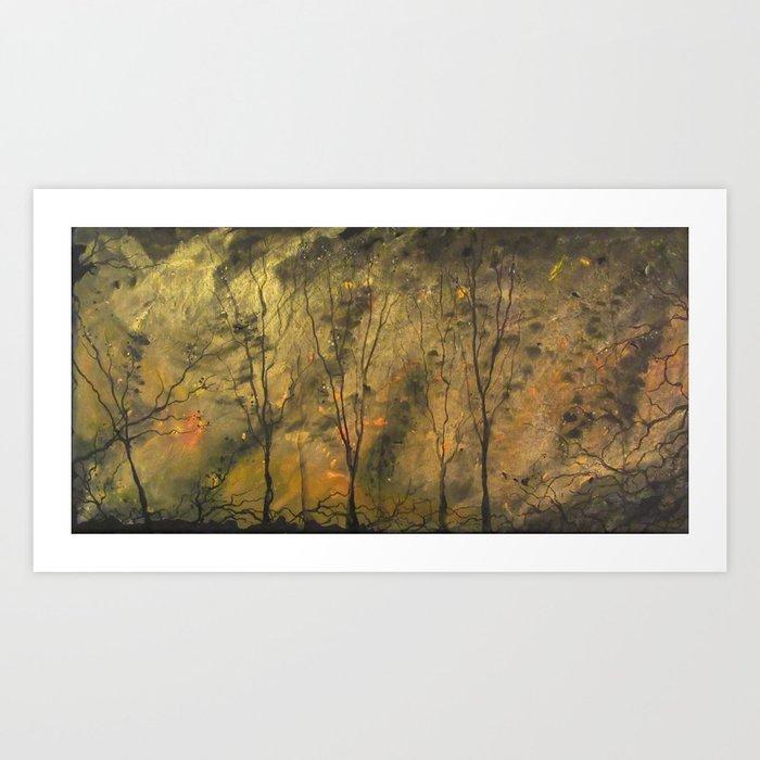 Autumn Burning Art Print