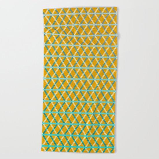 Overlap #6 Beach Towel