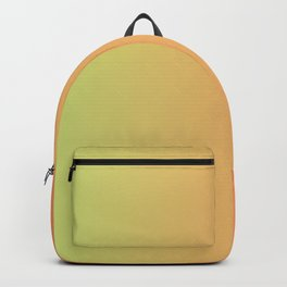 Lime Green And Peach Gradient Design Backpack