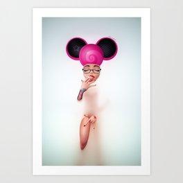 "The Iconic Photographs of Lady M - ""Rocking"" Art Print"