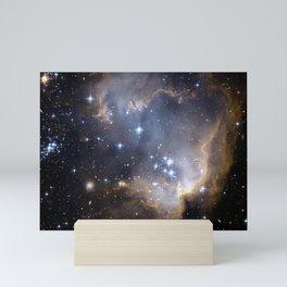 GALACTIC SCULPTURE Mini Art Print