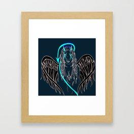 Good Vs Evil Framed Art Print