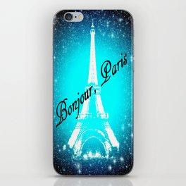 Bonjour, Paris! iPhone Skin