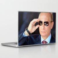 putin Laptop & iPad Skins featuring mr.Putin by Mikhail Zhirnov