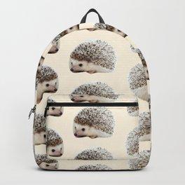 cute beige woodland animal baby hedgehog Backpack