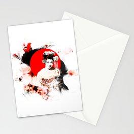 Kyoto Sakura Girl Stationery Cards