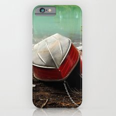 Emerald lake Boat iPhone 6s Slim Case