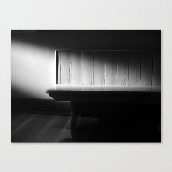 The Waiting Room - VACANCY zine Canvas Print