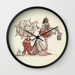 Cheer Up! She Found You Wall Clock