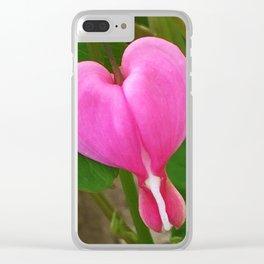 445 - Bleeding Heart Clear iPhone Case