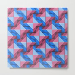 Geometrix XXIX Metal Print