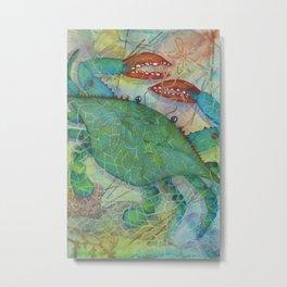 Crustacean Crazy Metal Print