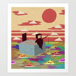 Those Afternoons Art Print
