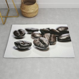 French roast coffee beans Rug