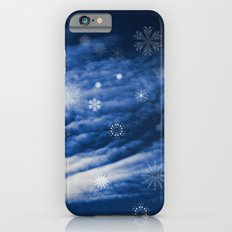 Snowy heaven iPhone 6s Slim Case