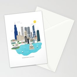 Chicago Illustration Stationery Cards