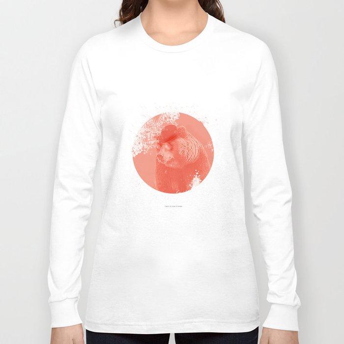 Stylish Bear Long Sleeve T-shirt