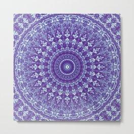 Ornate mandala Metal Print