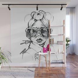 #STUKGIRL Penny Wall Mural