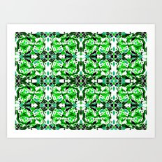 Green Goodness Art Print