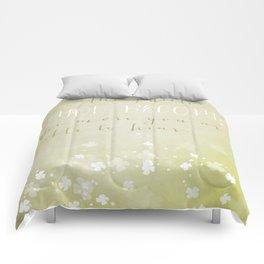 The quieter you become... Zen quote art & Typography. Comforters